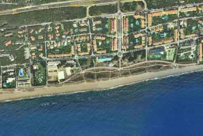 Excellent building plot 150 meters from the beach and only 12 km to Barcelona